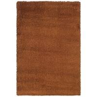 Manhattan Rust Area Rug - 5'3 x 7'9