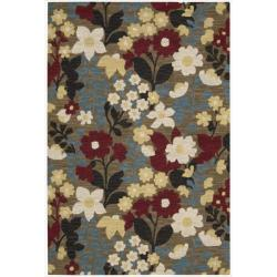 Nourison Hand Tufted Marbella Wool Brown Rug - 5' x 7'6 - Thumbnail 0