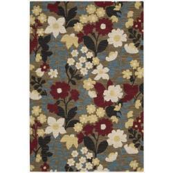 Nourison Hand Tufted Marbella Wool Brown Rug (3'6 x 5'6)