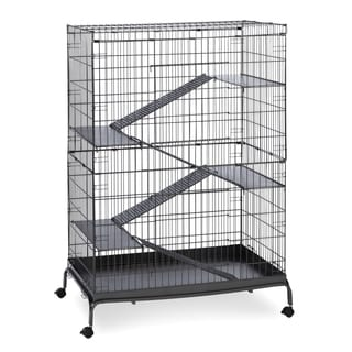 Prevue Pet Products Black Hammertone Jumbo Steel Ferret Cage