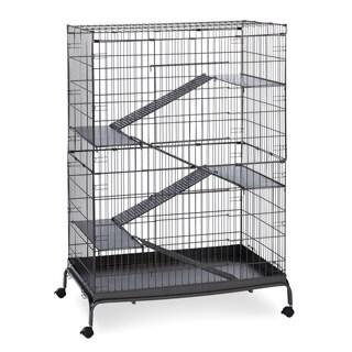 Prevue Pet Products Black Hammertone Jumbo Steel Ferret Cage
