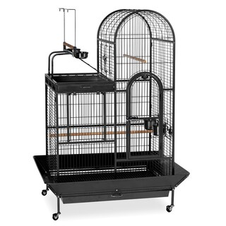 Prevue Pet Products Black Wrought-iron Double-roof Play-top Bird Cage
