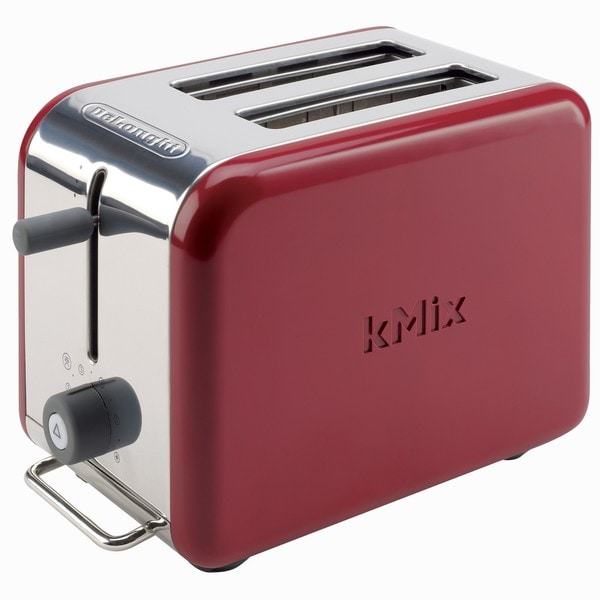 DeLonghi kMix 2-slice Red Toaster