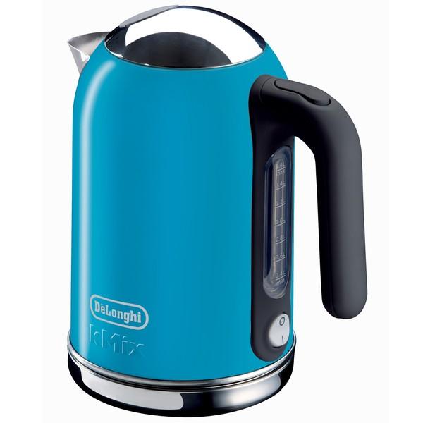 DeLonghi kMix Blue 54-ounce Electric Kettle