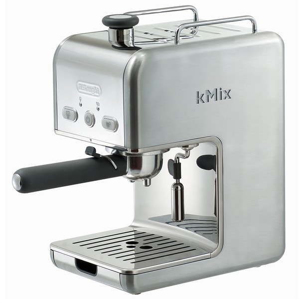 DeLonghi DES02ST kMix Stainless Steel Pump Espresso Maker