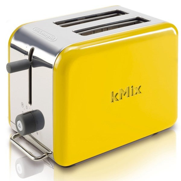 Delonghi Kmix Yellow 2 Slice Toaster Free Shipping Today