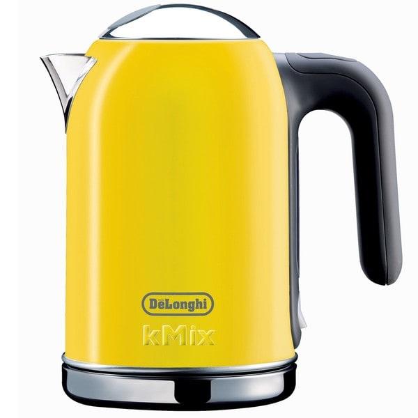 DeLonghi kMix 54-ounce Yellow Kettle