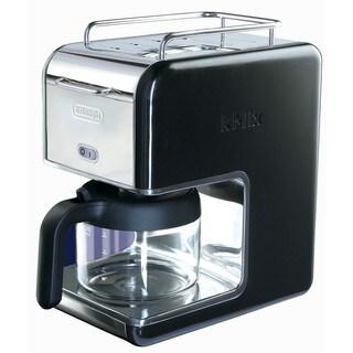 DeLonghi kMix 5-cup Black Drip Coffee Maker