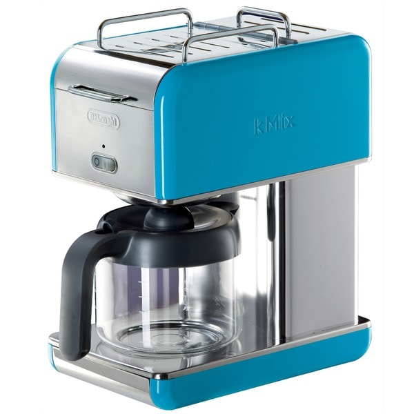 DeLonghi kMix 10-cup Blue Drip Coffee Maker