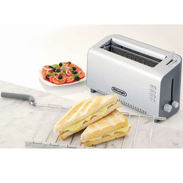 DeLonghi 2-slice Adjustable Toaster