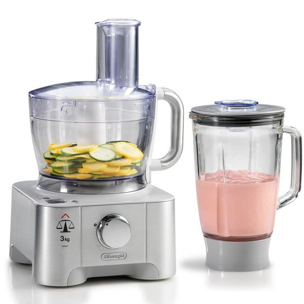 DeLonghi 12-cup Food Processor with Blender Attachment