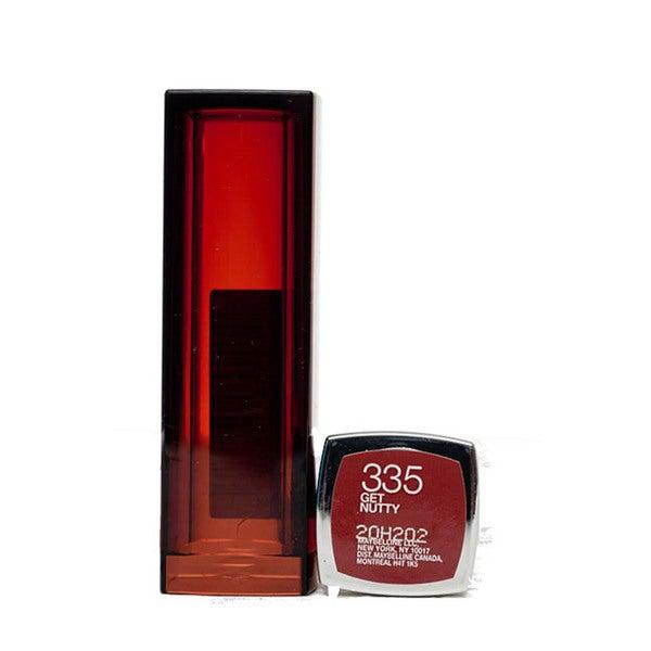 Maybelline Color Sensational #355 Get Nutty Lip Color (Pack of 4)