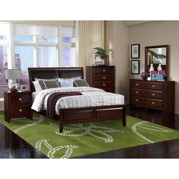 Alliyah Handmade Green New Zealand Blend Wool Rug - 5' x 8'