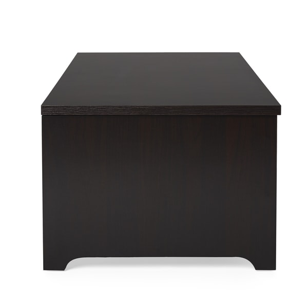 Great Furniture Of America Knox Dark Espresso Storage Box Coffee Table   Free  Shipping Today   Overstock.com   13878446