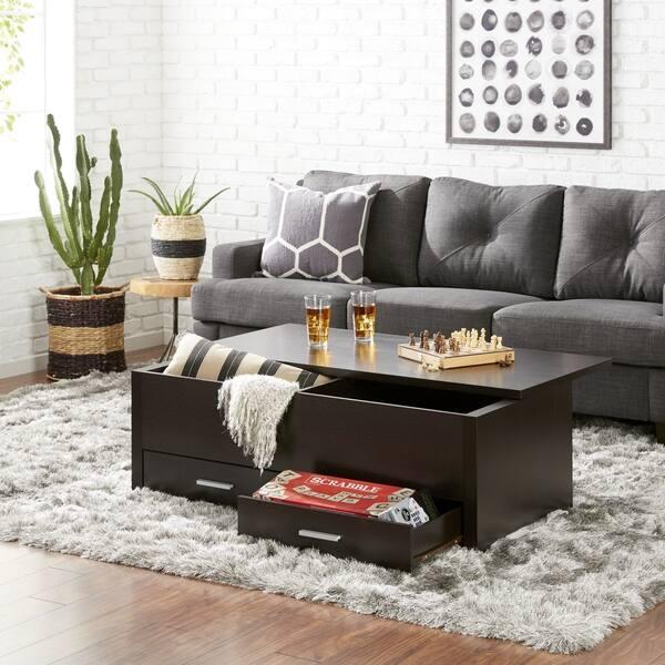 Enjoyable Shop Furniture Of America Knox Espresso Wood Storage Box Pdpeps Interior Chair Design Pdpepsorg
