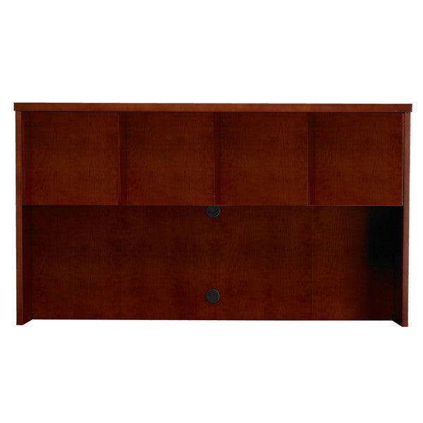 Mayline Mira Series 70-inch Wide Hutch with Wood Doors