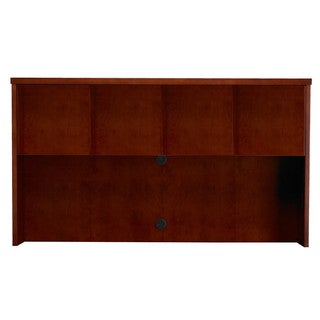 "Mayline Mira 70""W Hutch Cabinet with Wood Doors"