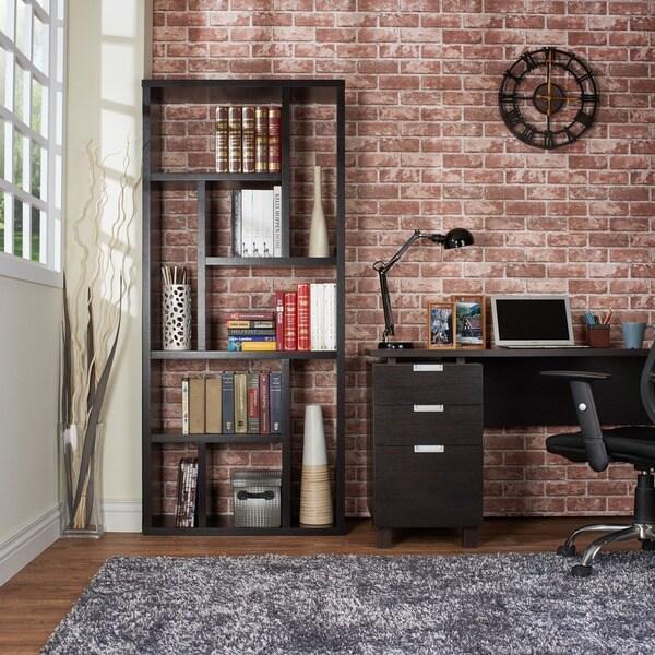 Furniture Of America Espresso Multi Purpose 3 In 1 Display Cabinet/ TV  Stand/ Bookcase   Free Shipping Today   Overstock.com   13878588
