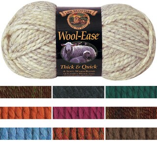 Lion Brand Wool-Ease Thick & Quick Blended Yarn (More options available)