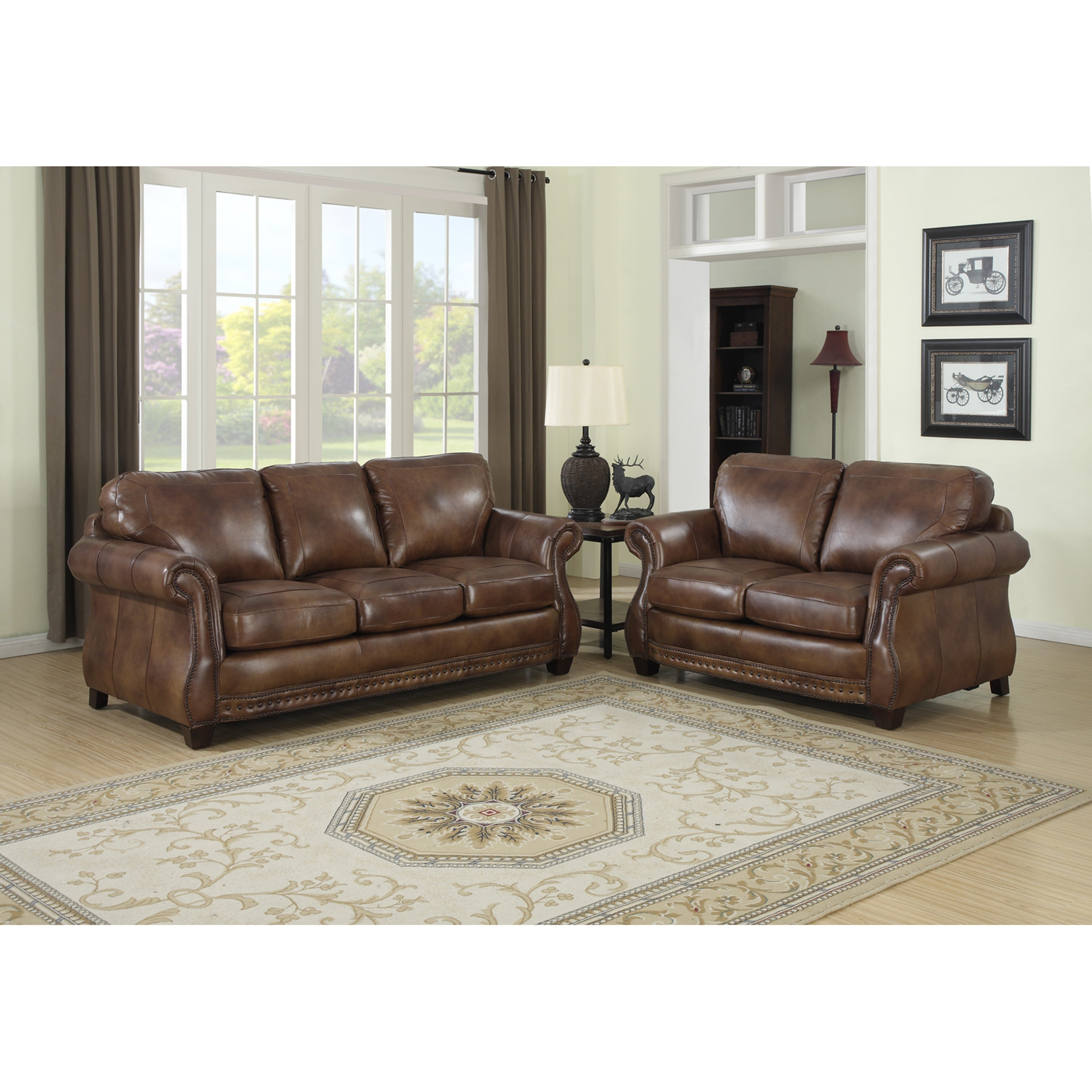 cognac sofa darby home co beglin cognac leather sofa reviews wayfair thesofa. Black Bedroom Furniture Sets. Home Design Ideas