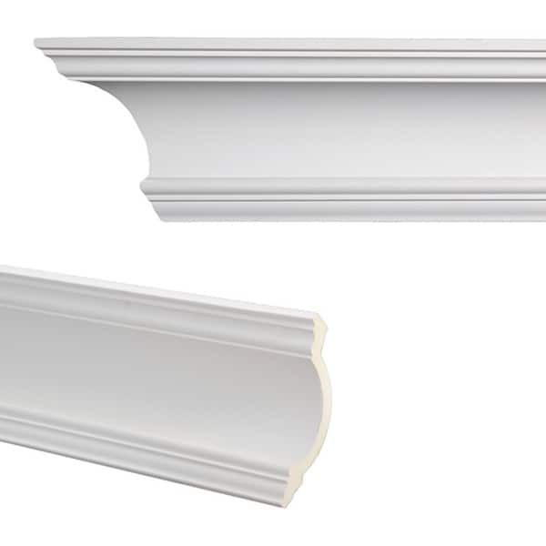 Cove 7 3 inch crown molding pack of 8 free shipping for 9 inch crown molding