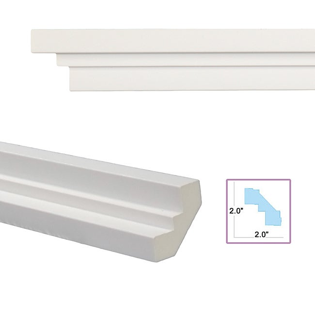 Oblate 2 8 inch crown molding free shipping today for 9 inch crown molding