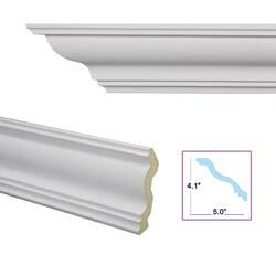 Cyma Reversa 6.4-inch Crown Molding