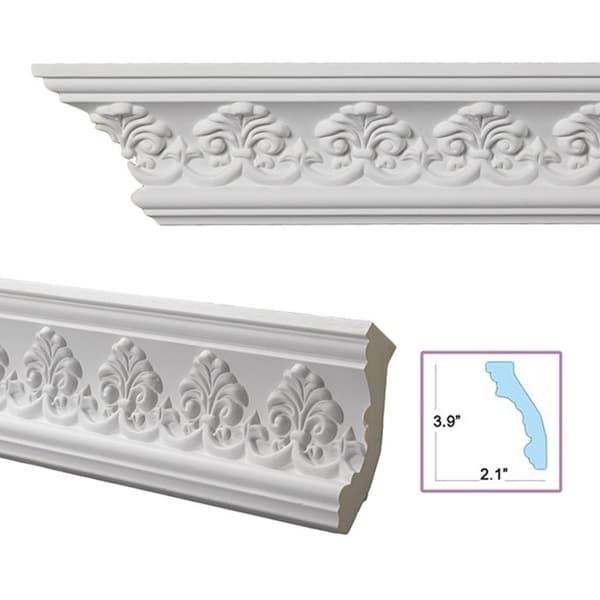 Palmette 4.4-inch Crown Molding (8 pieces)