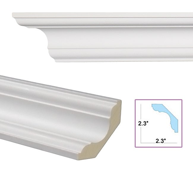 Cavetto 3.3-inch Crown Molding