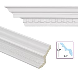 Dentil 4.8-inch Crown Molding