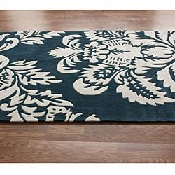 nuLOOM Handmade Pino Damask Rug (5' x 8') - Thumbnail 1