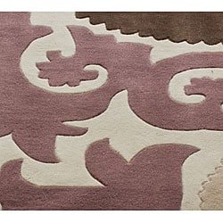 nuLOOM Handmade Pino Suzani Rug (7'6 x 9'6)