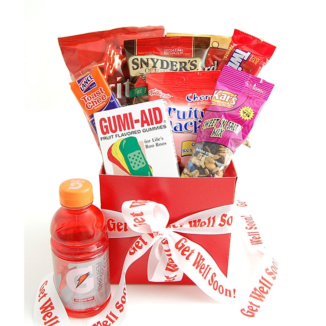 Get Well Soon Snack Care Package