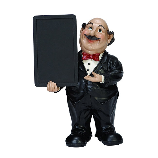 Casa Cortes 18-inch Waiter with Chalkboard Kitchen Decor