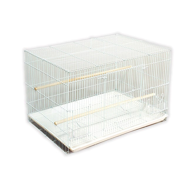 Prevue Pet Products Stackable Flight Cage (White), Size E...