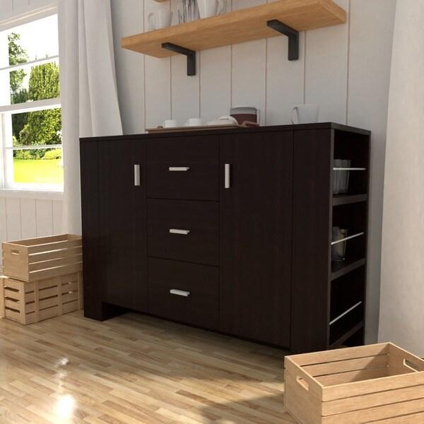 Furniture of America Clayton Cappuccino-finish Dining Buffet