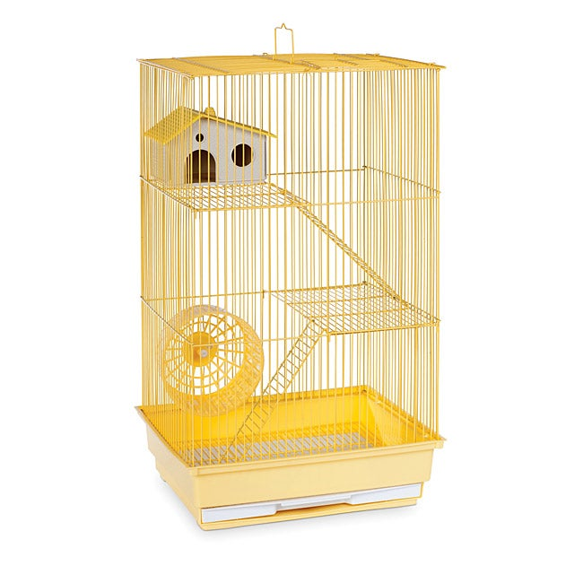 Prevue Pet Products Three Story Yellow Hamster/Gerbil Cage SP2030Y (yellow)