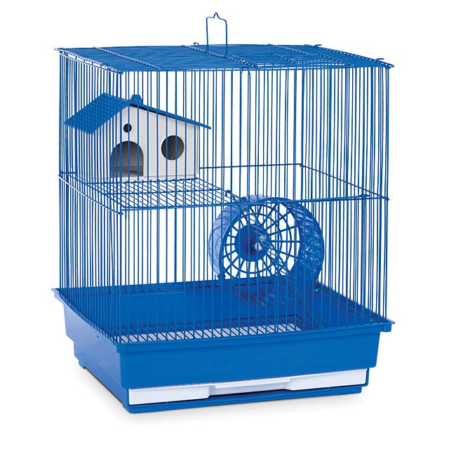 Prevue Pet Products Two Story Blue Hamster/Gerbil Cage SP...