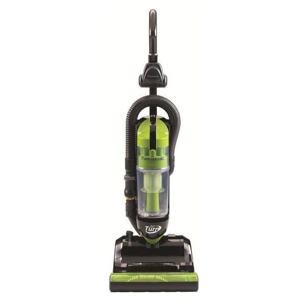 Panasonic JetTurn Green Upright Vacuum