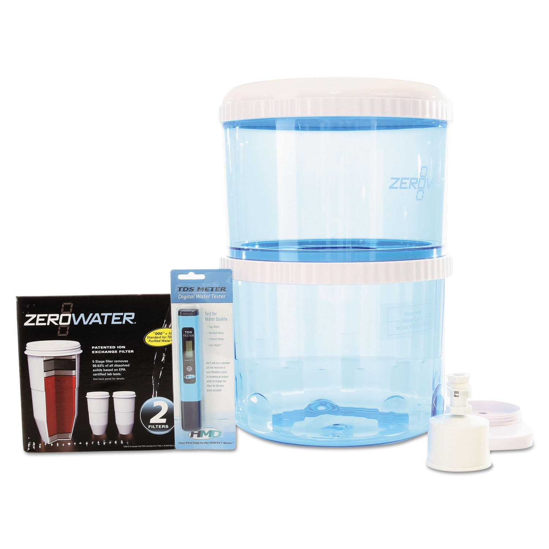 Shop Zerowater Zj 20 Bottle Filtration System Free Shipping