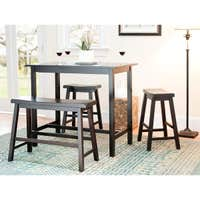 Safavieh Bistro 4-pc Counter-Height Bench and Stool Pub Set Deals