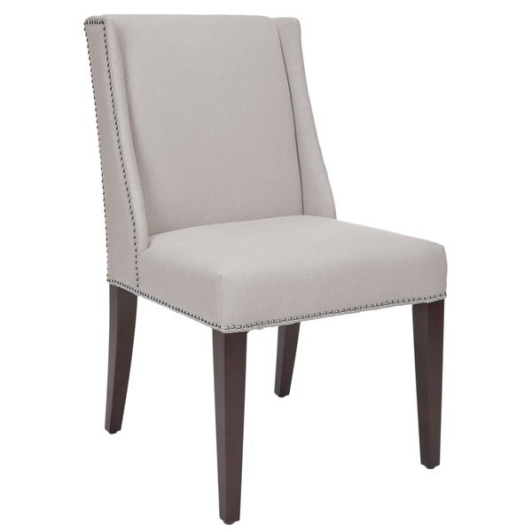 Safavieh En Vogue Dining Noho Beige Linen Dining Chairs (Set of 2)