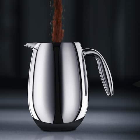 Bodum COLUMBIA Thermal French Press Coffee Maker, 34oz, 1 L, S/S