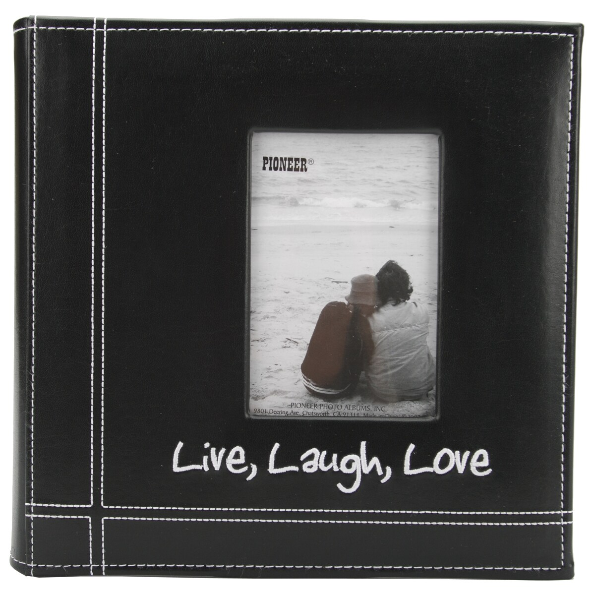 Pioneer Photo Albums Embroidered 200-photo Live Laugh Lov...