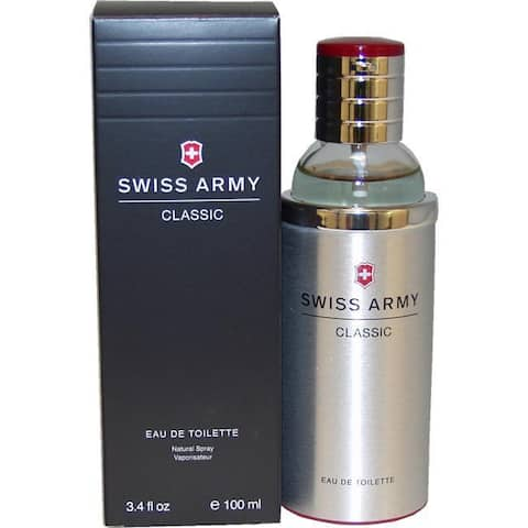 Swiss Army Classic Men's 3.4-ounce Eau de Toilette Spray