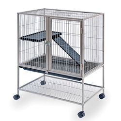 Prevue Pet Products Coco Brown Frisky Ferret Cage with Stand