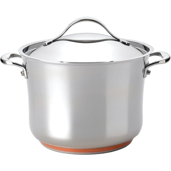 Anolon Nouvelle Copper Stainless Steel 8.25-quart Covered Stockpot