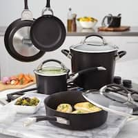 Circulon Symmetry Hard-anodized Nonstick 11-piece Cookware Set