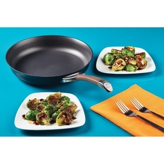 Circulon Symmetry Chocolate Hard-anodized Nonstick 10-inch and 12-inch 2-piece French Skillets