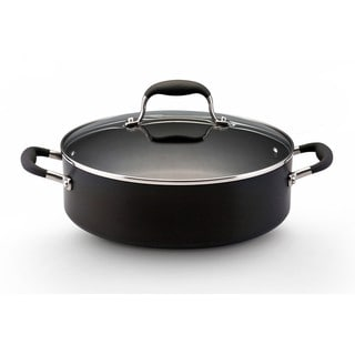 Anolon Advanced Hard-anodized Nonstick 5.25-quart Covered Sauteuse